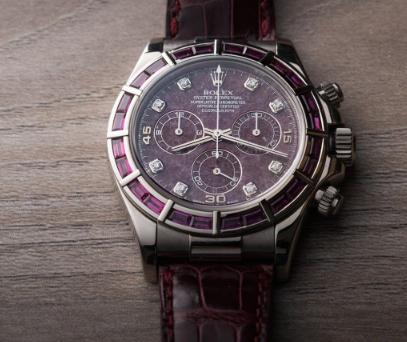 Classic Rolex replica Ref.116589 Garnet Pandion Watch1